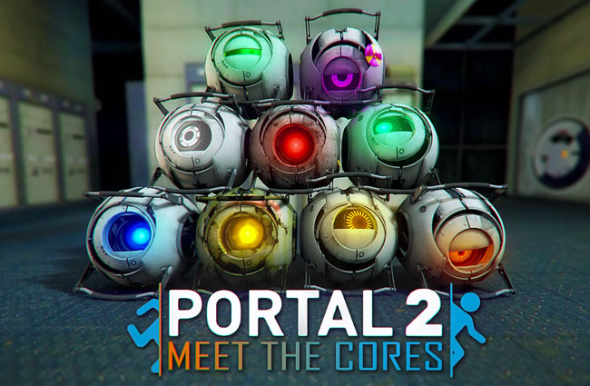 Portal 2 Meet The Cores Fan Made Movie Video