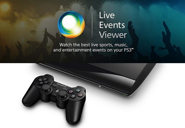 PlayStation 3 Live Events App Launches With Pay-per-view Streaming