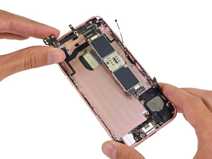 Ifixit Iphone X Wallpaper Iphone 6s Gets Taken Apart By Ifixit