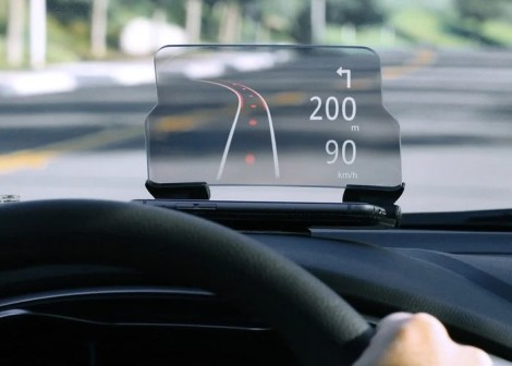 HUDWAY Glass Car Heads Up Display