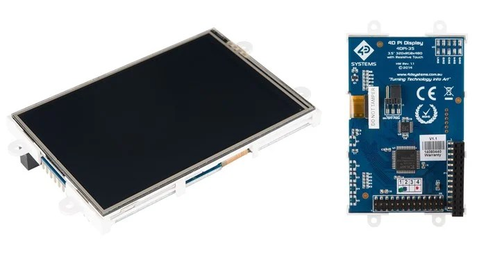 The Sparkfun 3.5 inch Raspberry Pi Primary Display