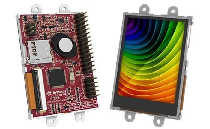 Touchscreen LCD Raspberry Pi Display Starter Pack
