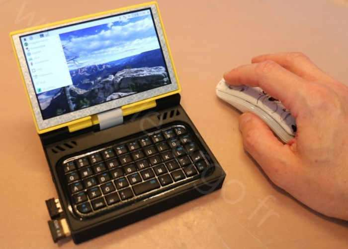 Raspberry Pi Ultra Mobile Pocket PC Video Geeky Gadgets