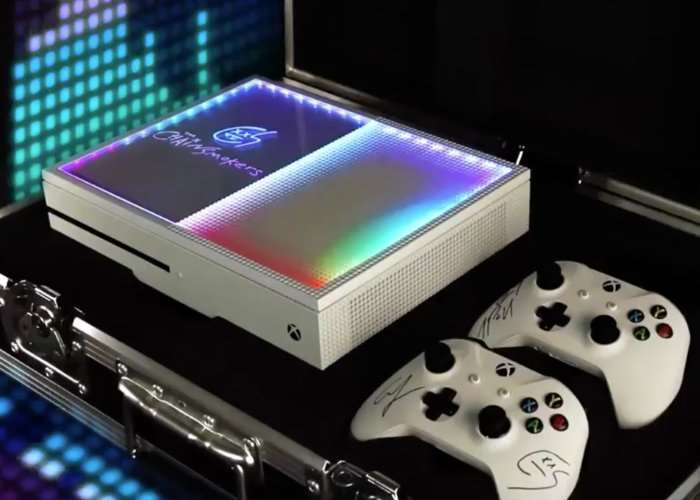 Custom Chainsmokers Xbox One S Video Geeky Gadgets
