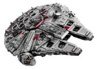 UCS Millennium Falcon LEGO 7,541 Pieces Assembled (video ...