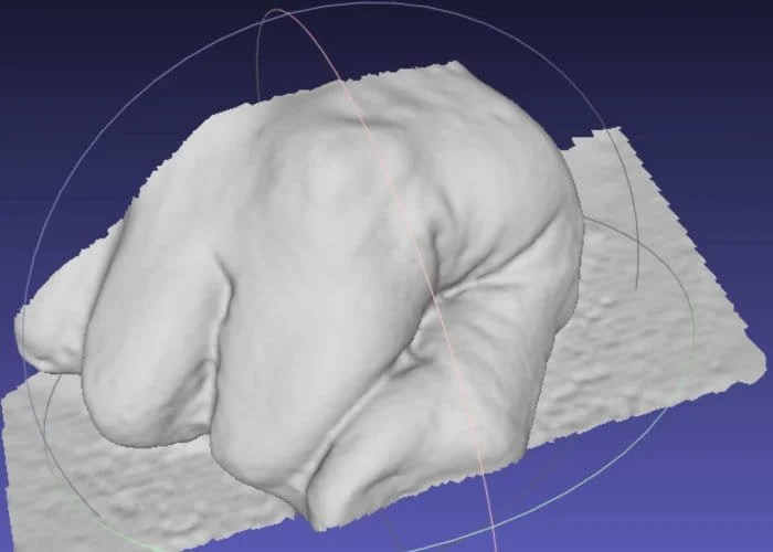 3D Scanner Created Using 4 Raspberry Pi Zero