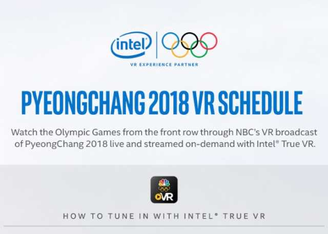 Watch The 2018 Winter Olympics In VR