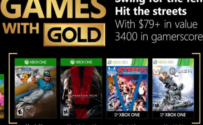 Free Xbox Games With Gold May 2018 Announced Geeky Gadgets