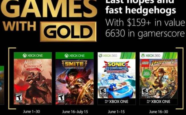 Free Xbox Games With Gold For June 2018 Geeky Gadgets