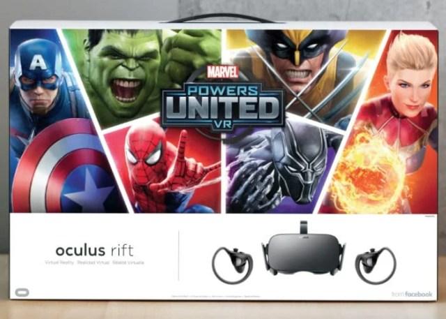 Oculus Rift VR Headset Marvel Bundle Unveiled