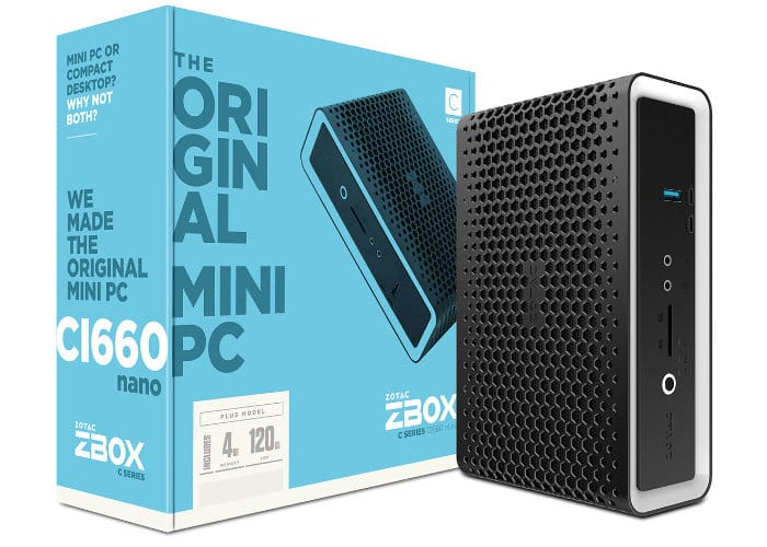 ZOTAC ZBOX C Mini PC