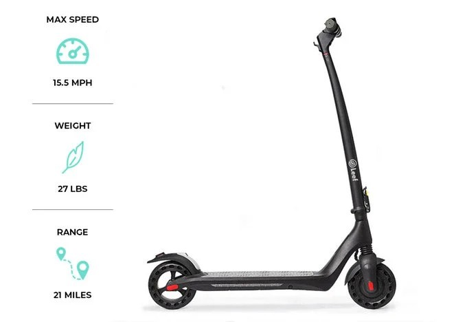 Leef Ohm electric scooter hits Kickstarter from $299