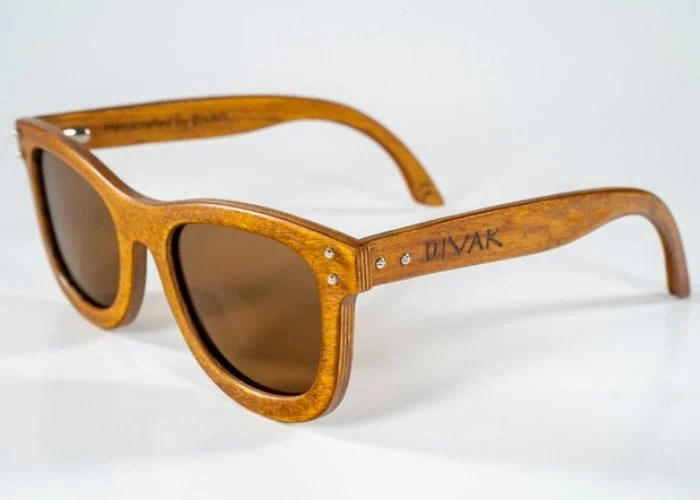 DIVAK wooden sunglasses