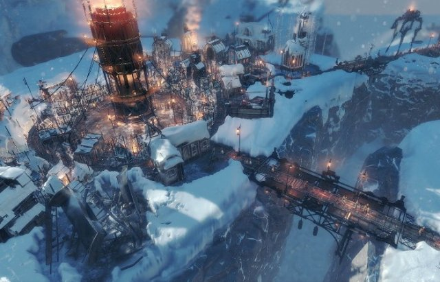 Frostpunk strategy game city builder