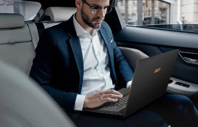 MSI Summit E16 Flip convertible laptop tablet