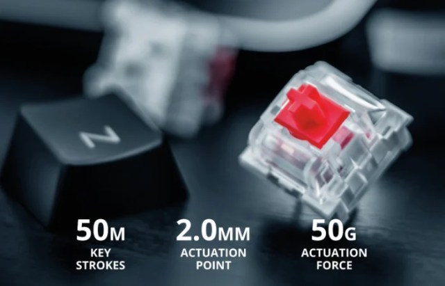 Outemu RED switches