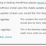Upgrade WordPress to WordPress 3.0 Beta 1