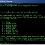 Personalizing your Windows Command Prompt