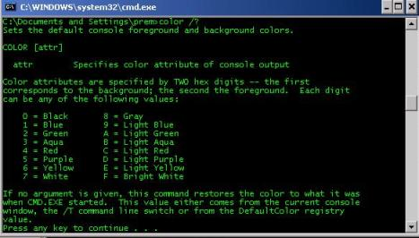 command prompt, personalize,