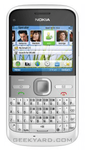 Nokia E5 QWERTY Phone