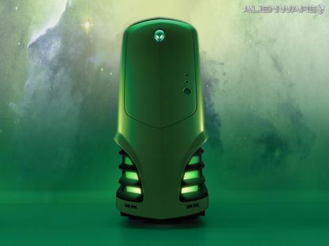 Alienware Desktop HD Wallpaper Green