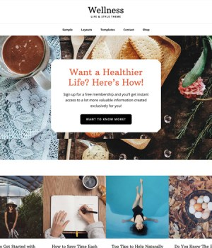 Wellness Pro: StudioPress Theme for Health and Fitness Blog