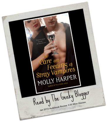 Audiobook Review: The Care and Feeding of Stray Vampires by Molly Harper
