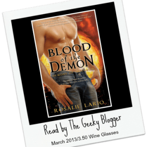Speed Date Review: Blood of the Demon (Demons of Infernum #1) by Rosalie Lario