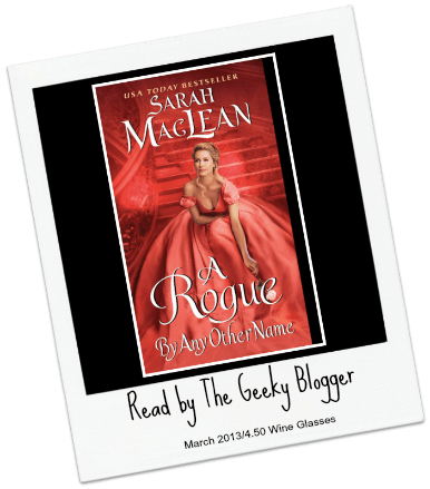 Audiobook Review: A Rogue by Any Other Name (The Rules of Scoundrels, #1) by Sarah MacLean #BookClubRead
