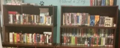 Audiobook Shelves
