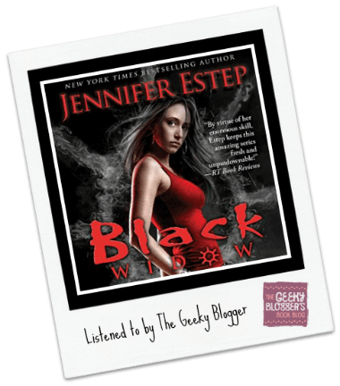 Audiobook Review: Black Widow by Jennifer Estep