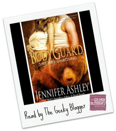 Snagged @ The Library Review:  Bodyguard by Jennifer Ashley