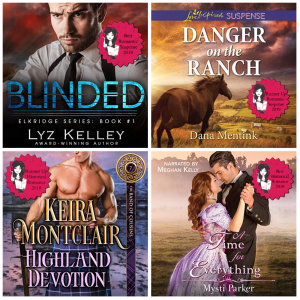 #SultryListeners 2019 Winners: Romantic Suspense & Historical Romance