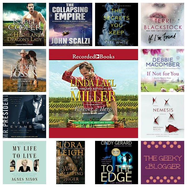 In My Ear: Audiobook Releases March 21 2017