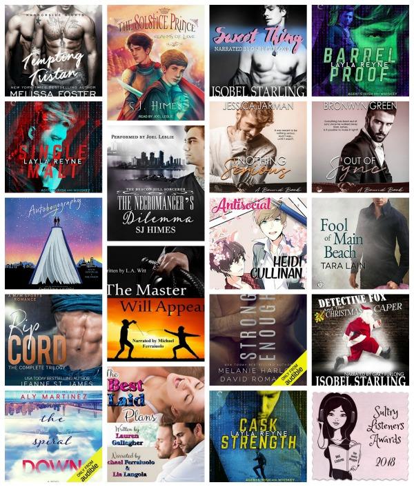 #SultryListeners LGBTQ Romance Semi-Finals 2018 @mlsimmons #LoveAudiobooks