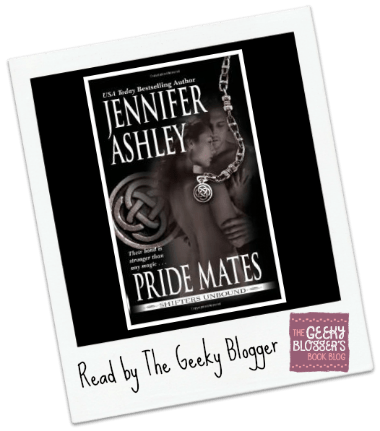 Snagged @ The Library Review:  Pride Mates by Jennifer Ashley