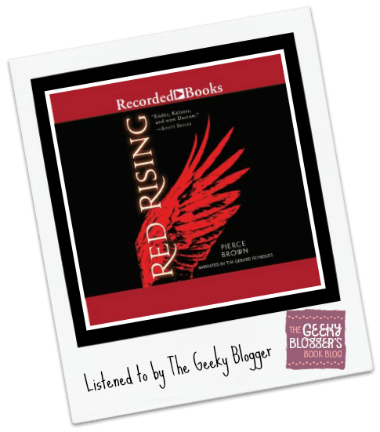 Library Audiobook Review: Red Rising by Pierce Brown