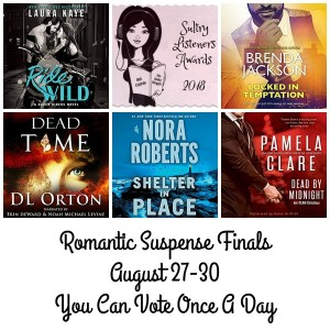#SultryListeners 2018 Romantic Suspense Finals #LoveAudiobooks @MLSimmons