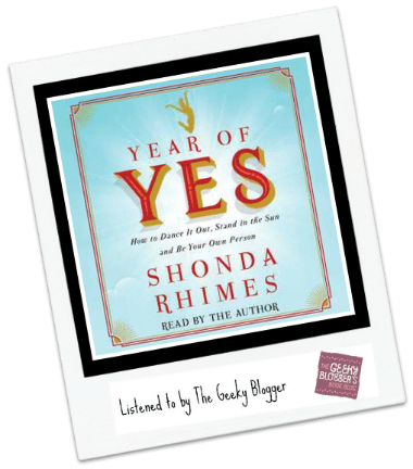 Audiobook Review: Year of Yes by Shonda Rhimes