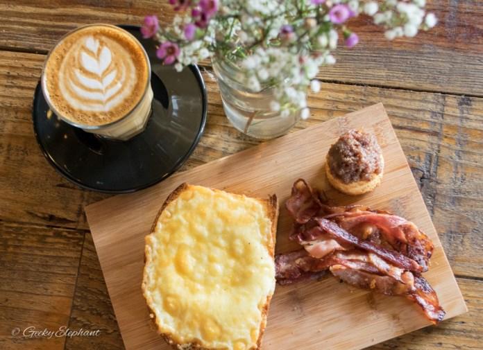 One Man Coffee - Gashouse Eggs & Latte