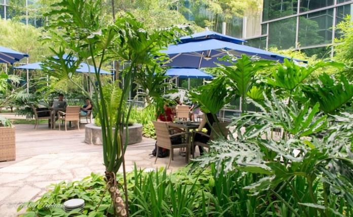 La Ristrettos: Courtyard