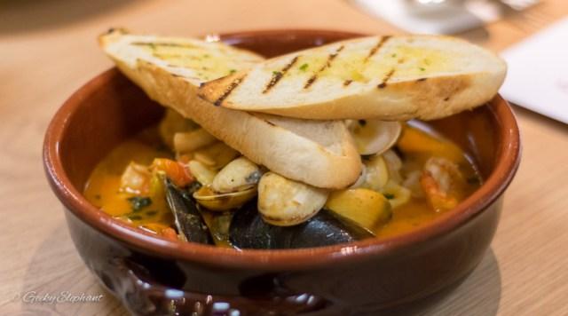 Ricciotti Pizza Pasta Grill: Cioppino Soup
