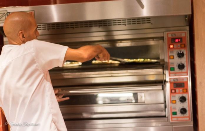 Ricciotti Pizza Pasta Grill: Freshly made pizzas