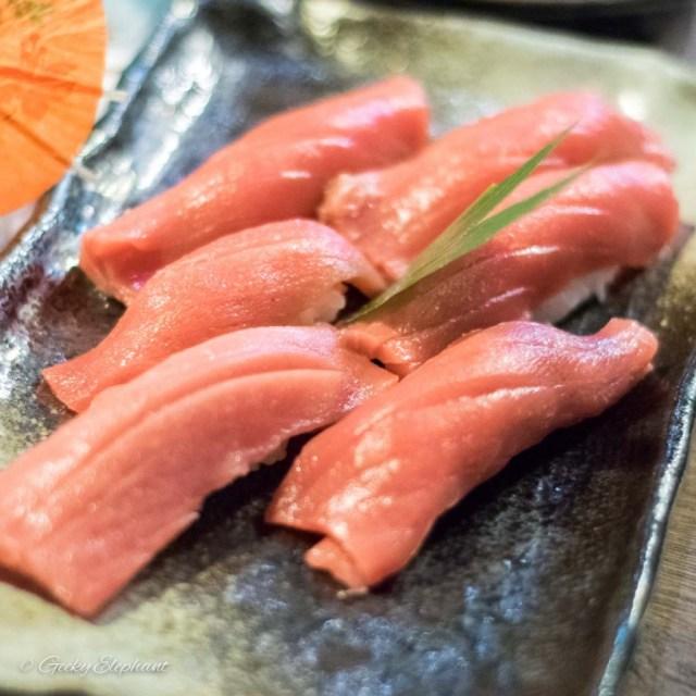 Oceans of Seafood: Chutoro Nigiri