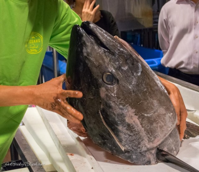 Oceans of Seafood: Bluefin Tuna Cutting Demonstration
