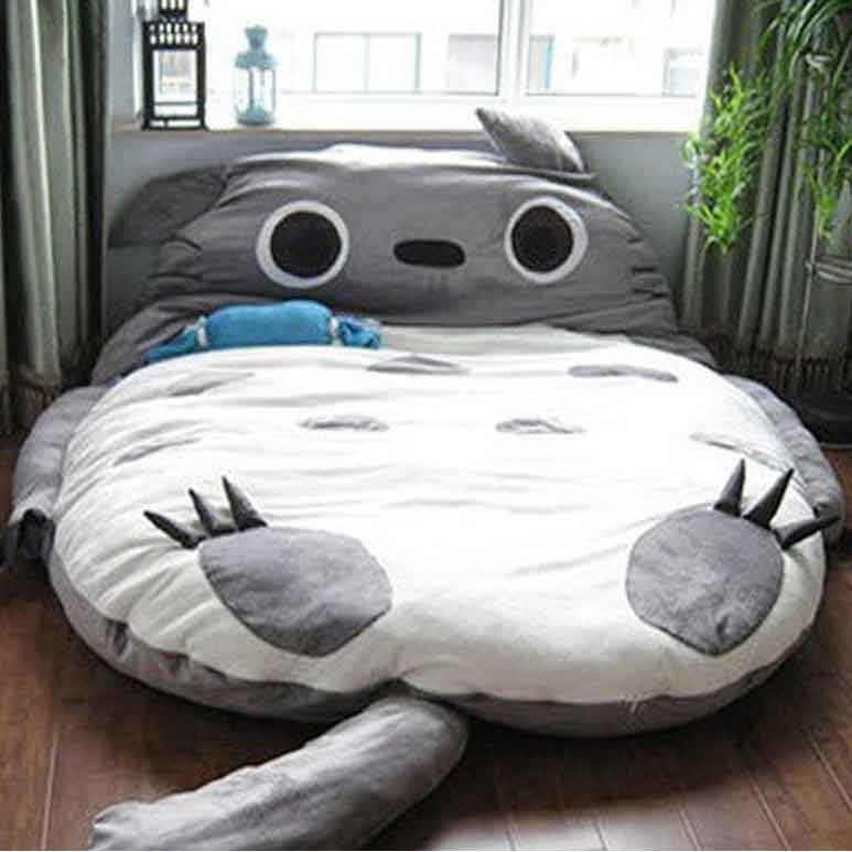 Giant Totoro Bed  Plush Totoro Beds Bean Bags For Adults And Anime Fans