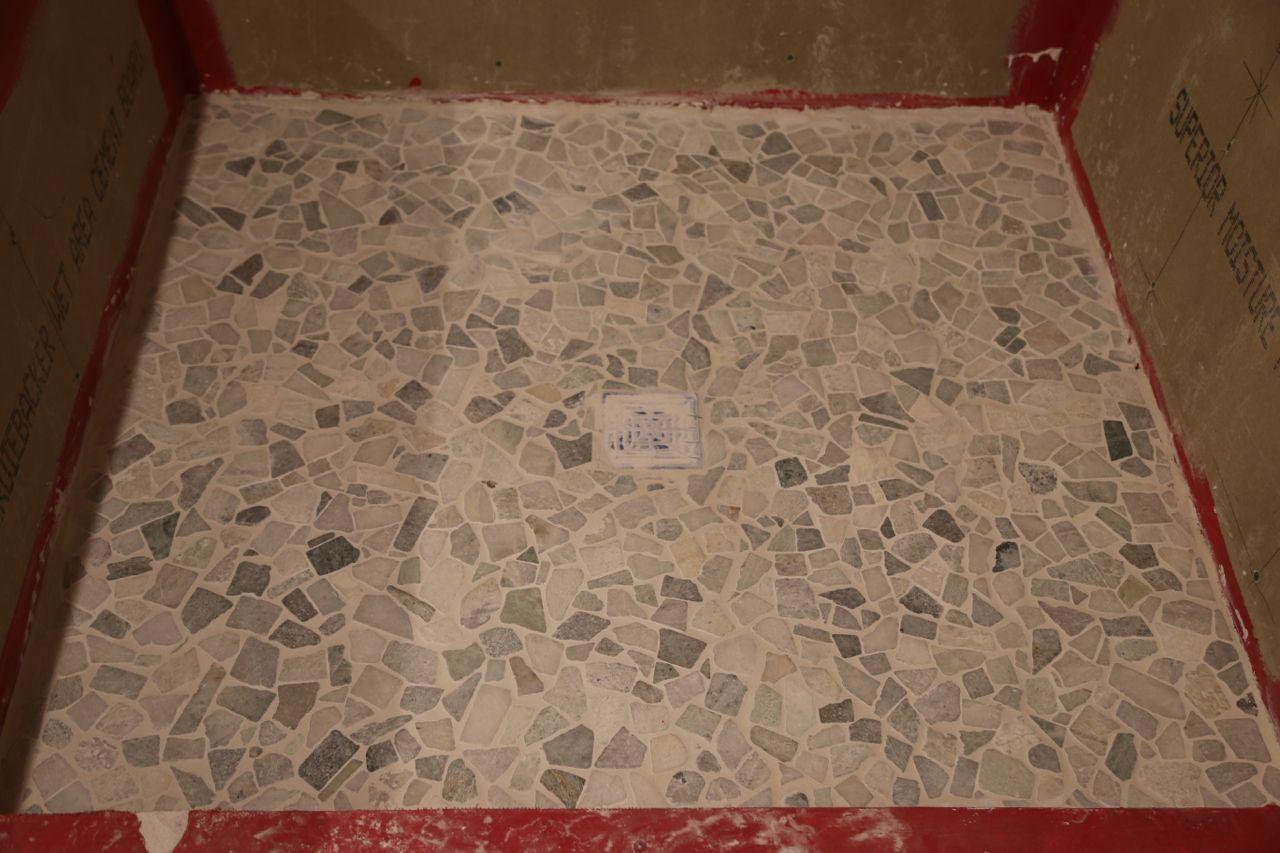 Bathroom Floor Is Finished!  Geeky Girl Engineer