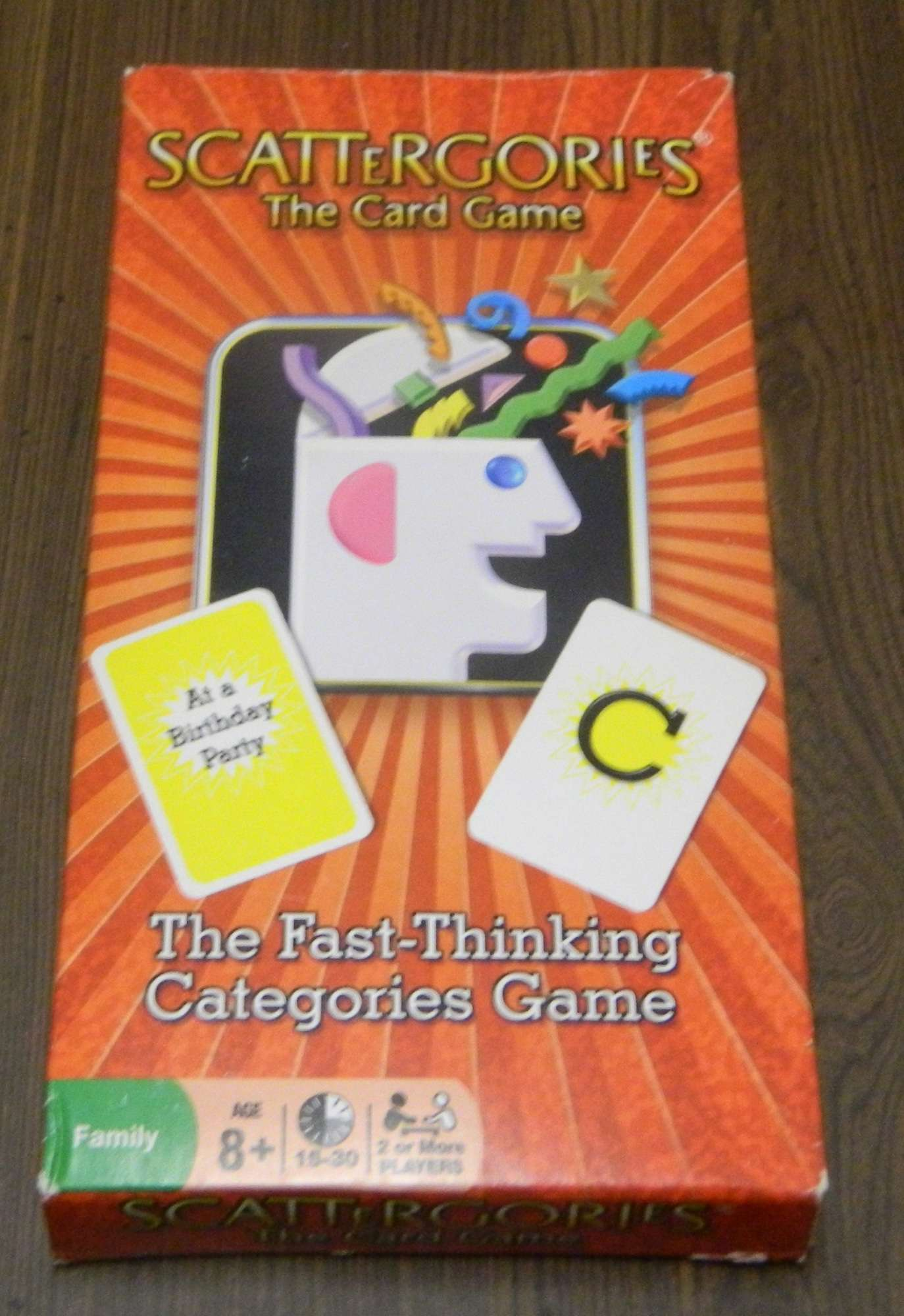Scattergories The Card Game Card Game Review  Geeky Hobbies