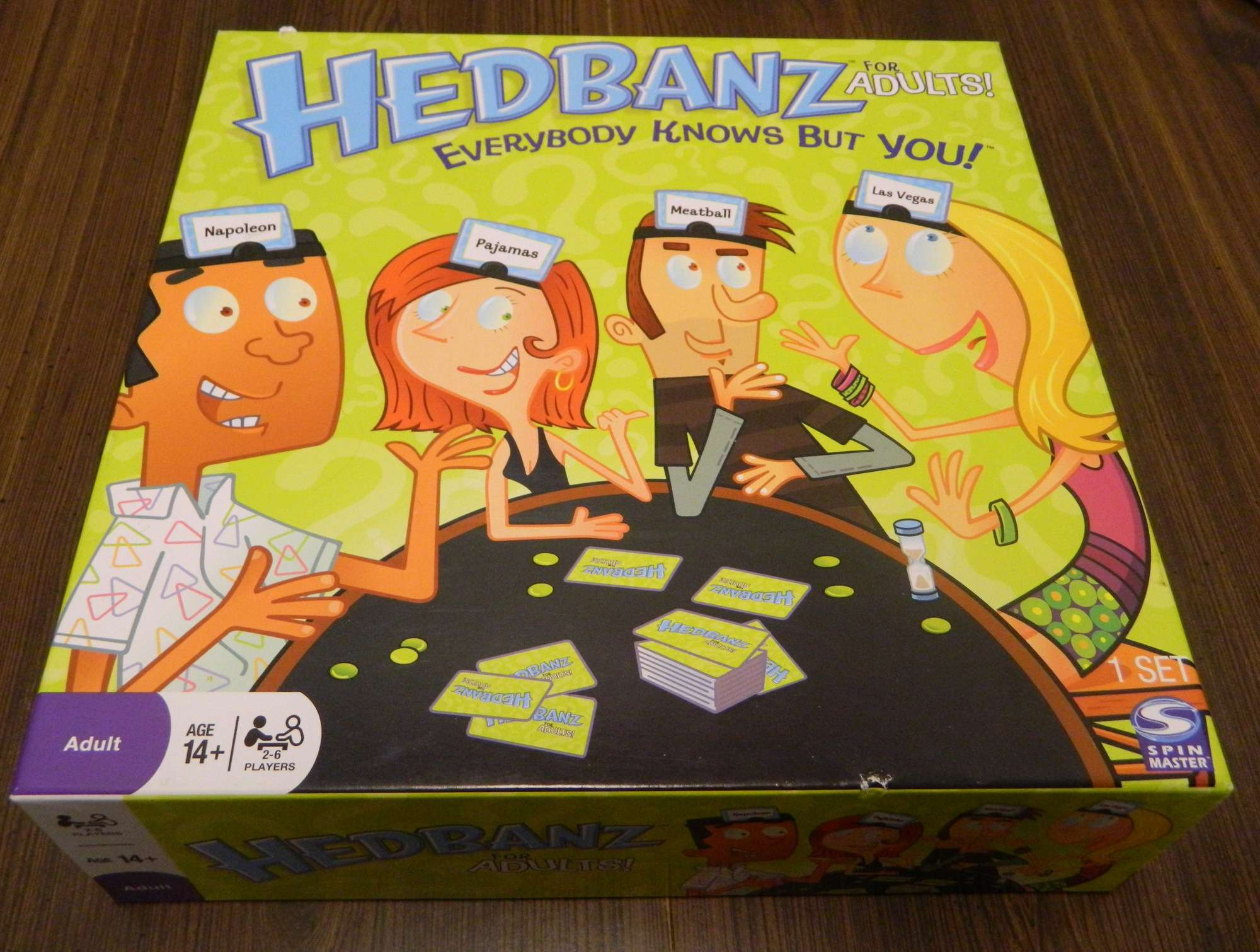 Hedbanz For Adults Board Game Review And Instructions