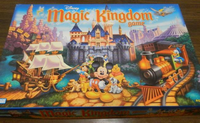 Disney Magic Kingdom Game Board Game Review And Rules